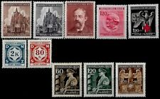 WW 2 German Third Reich Bohemia and Moravia  stamps MNH