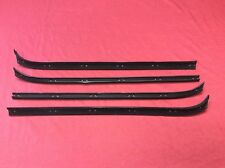 1973-79 Ford Truck & 78-79 Bronco Door Window Sweep Kit! Left & Right. Premium!