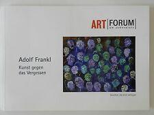 Adolf Frankl Kunst gegen das Vergessen Art Forum am Judenplatz Gesichter