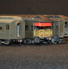 3 Pullman Passenger Cars - 2 Santa Fe Rivarossi  and 1 Tinsided Kitbuilt NYC