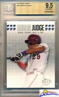 2013 Leaf Draft Aaron Judge ROOKIE BGS 9.5 GEM MINT New York Yankees!