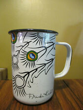 Frida Kahlo Metal Cup/Mug 20 Oz Signed