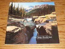 Original 1997 Jeep Full Line Deluxe Sales Brochure 97 Wrangler Cherokee