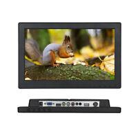 "12"" 16:9 1366*768 VGA/TV/HDMI/AV TFT LCD Color Monitor For PC OCD CCTV Security"