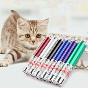 Funny Pet Dog Cat Toys LED Red Laser Pointer light Pen Bright Cute Stick Toy