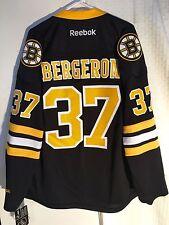 Reebok Premier NHL Jersey Boston Bruins Patrice Bergeron Black Alt sz L