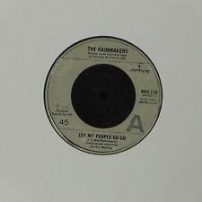 """THE RAINMAKERS 'LET MY PEOPLE GO-GO' UK 7"""" SINGLE"""