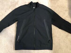 Nike Sportswear Tech Pack Track Jacket 928561-010 Black Mens Medium