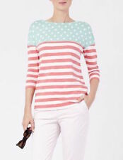 BODEN Colorblock Striped Breton Top Shirt Top Tee Size US 12