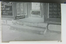 (1) B&W Press Photo Negative Canada Dry Zelazo's habitant Dreokorns Store T008