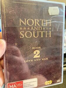 North And South Book 2 Love And War NEW region 4 DVD (3 discs) 1986 mini series