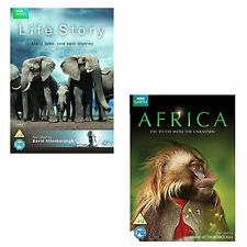 Africa + Life Story DVD R4 David Attenborough