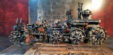 Iron Daemon War Engine & Rocket Launcher painted Chaos dwarfs Warhammer FB AoS