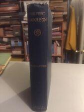 Vintage Book, The First Napoleon, John Codman Ropes 1887, Houghton Mifflin, Maps