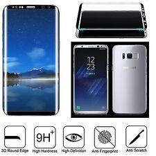 Pellicola in Vetro Temperato curvo per Samsung Galaxy S6 Edge G925 Bianco