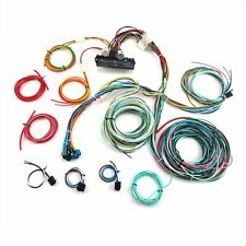21 Circuit Wiring Harness Fits Ford CHEVY Mopar Hotrod UNIVERSAL Extra long Wire