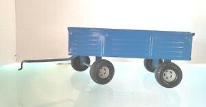 NICE Vintage Ertl Ford Blue Grain Barge Farm Wagon