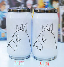 Anime Totoro Cat Can Bottle Vacuum Coffee Tea Cup Thermal Stainless Steel Mug
