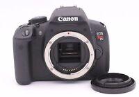 Canon EOS Rebel T5i / EOS 700D 18.0 MP Digital SLR Camera - Black (Body Only)