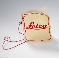 Leica IIIf Original Red & Gold Inspection Tag with Red String