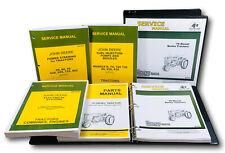 Master Service Parts Manual For John Deere 70 Diesel Tractor Shop Book Catalog