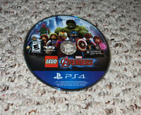 LEGO Marvel's Avengers (Sony PlayStation 4 PS4) Disc Only Tested