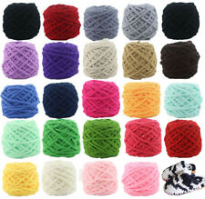 100G Super Vintage Chunky Single strand chenille cashmere Milk velvet Wool yarn