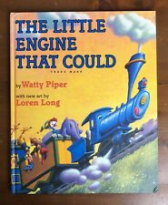 THE LITTLE ENGINE THAT COULD Watty Piper Loren Long Hardcover 10 x 12 Oversize