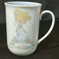 Vintage Precious Moments  Name Mug -Elaine- 1989 Enesco Corp Preowned