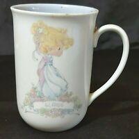 Vintage Precious Moments  Name Mug -Elaine- 1989 Enesco Corp Preowned