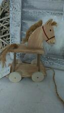 NOSTALGIE cheval sur roues shabby chic style maison de campagne vintage déco
