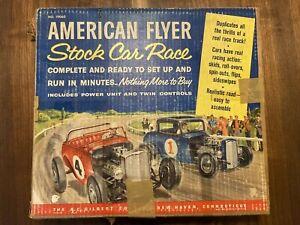 American Flyer No. 19060 Stock Race Car Set