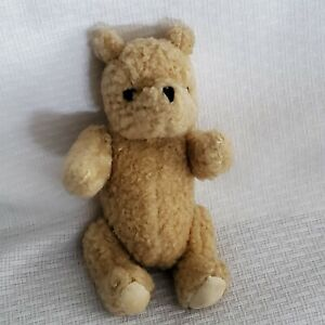 """Classic Winnie the Pooh Plush Stuffed Doll Toy Jointed 5"""" 6"""" standing sitting"""
