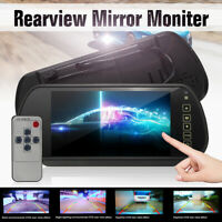 """7"""" TFT LCD Rear View Rearview Mirror Parking Monitor for Car Reversing Camera"""