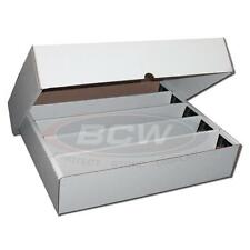 5000 Count Storage Box BCW Corrugated Cardboard Storage Box (FULL LID)