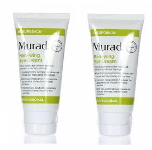 2 x Murad Resurgence Renewing Eye Cream 2oz/60ml PRO New  (2 pack 4 oz total )