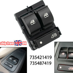 Electric Window Switch Front Right For Citroen Relay Peugeot Boxer Fiat Ducato