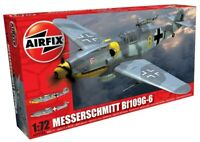 AIRFIX 1:72 SCALE MESSERSCHMITT BF109G-6 WW2 AIRCRAFT MODEL KIT PLANE A02029A