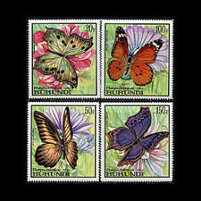 Burundi, Sc #252-55, MNH, 1968, Butterflies, Insects, CL94F