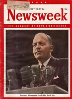 1946 Newsweek July 22-Howard Hughes Hercules plane; Constellation crashes;Barber