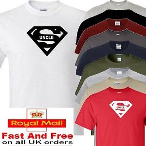 uncle t shirt super uncle