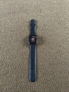 Apple Watch Series 1 42mm Aluminum Case Black Sport Band - (MJ3T2LL/A)