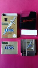 THE LEGEND OF ZELDA 2 ADVENTURE OF LINK  PAL B NINTENDO NES ORIGINAL WORK FULLY