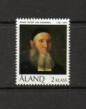 Aland 1992 Birth Bicentenary Rev Frans Peter von Knorring SG53 unmounted stamp