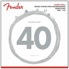 Fender Super 7250 Bass Strings NPS Long Scale 7250-5L - .040-.115 Set of 5