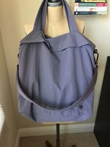 LULULEMON On My Level Bag *Large 30L Graphite Purple (Pre-Owned)