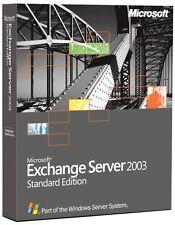 MS Exchange Server 2003 Standard Vollversion deutsch inkl. 5 Clients