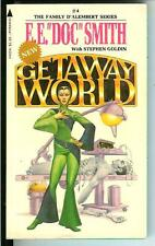GETAWAY WORLD by EE Doc Smith rare US Pyramid sci-fi Space Opera pulp vintage pb