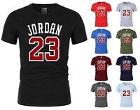 NEW Mens T-shirt Michael Air Legend 23 Jordan Men shirt Tops Graphic Tumblr Cool