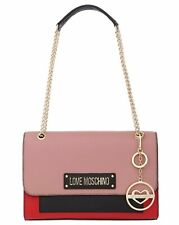 NEWT AUTH LOVE MOSCHINO JC4346PP17L6060A GENUINE  LEATHER SHOULDER BAG